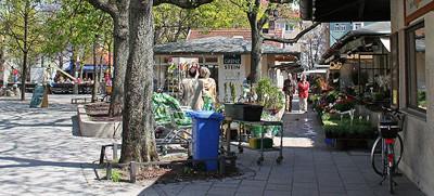 Elisabethplatz und Elisabethmarkt