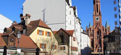 Wiener Platz in Haidhausen